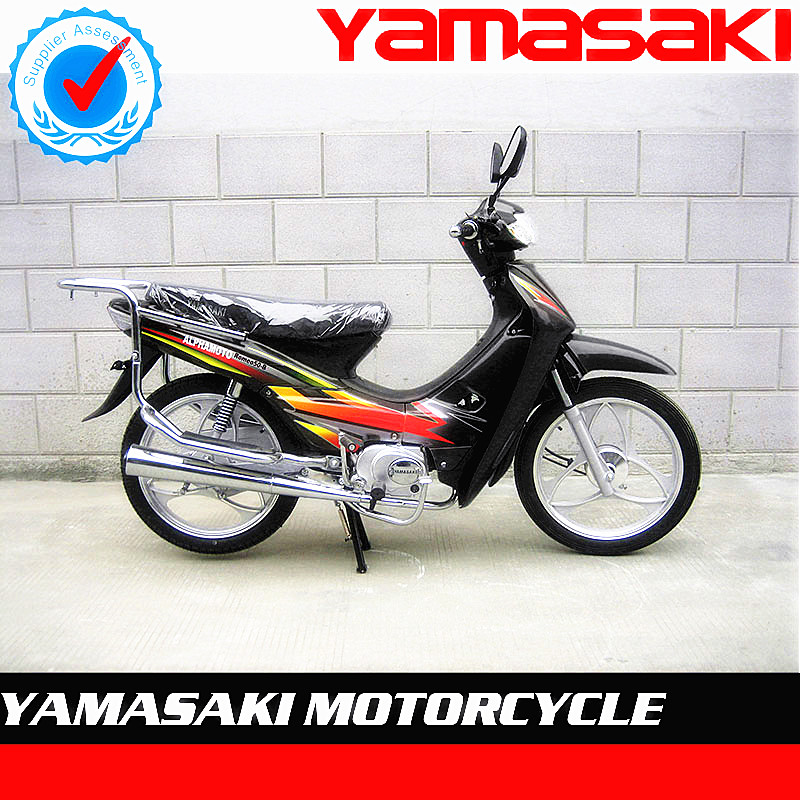 CHEAP 50CC GASOLINE BLACK COLOR CUB BIKE MOTORCYCLE
