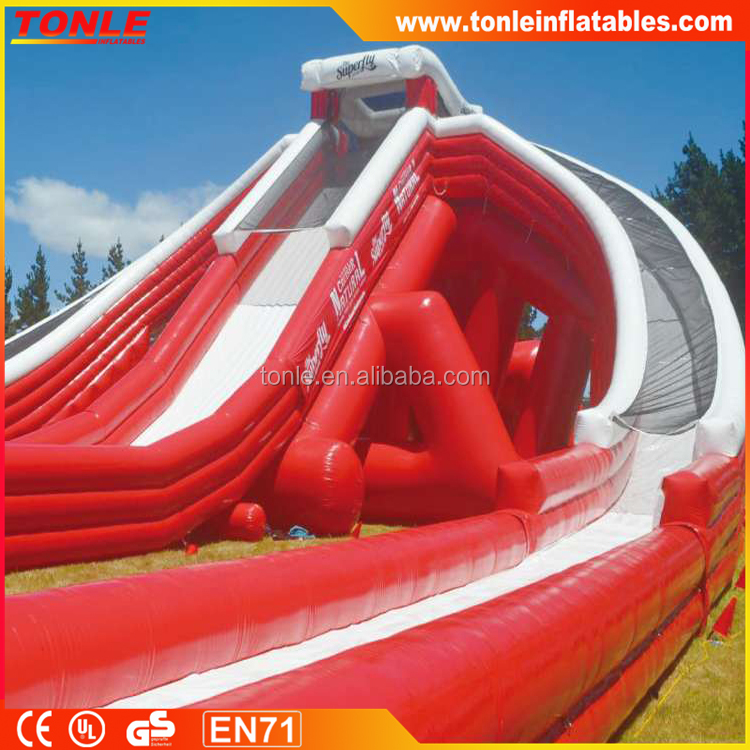 Large SuperFly Inflatable Slide, The Worlds Wildest Inflatable Water Slide for sale
