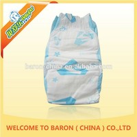 100% Cotton printed useful healthy diaper baby care product