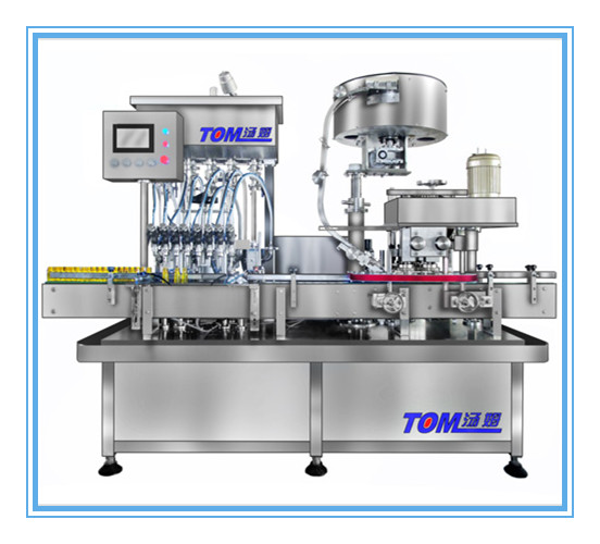TOM GXY-4 filling and capping machine 2 in 1 filling Machine
