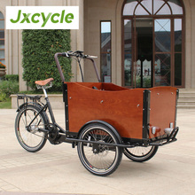 Cheap shopping cargo bicycle / Family Electric Cargo Bike / Electric bike