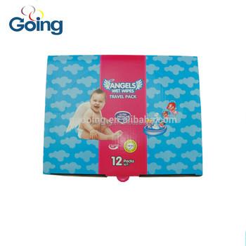 carton box wet wipe raw material