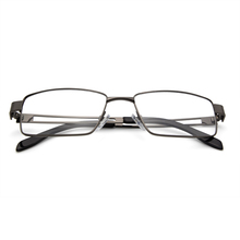 JON1043 is fashionable optical glasses with big full frame. The material of frame is metal.