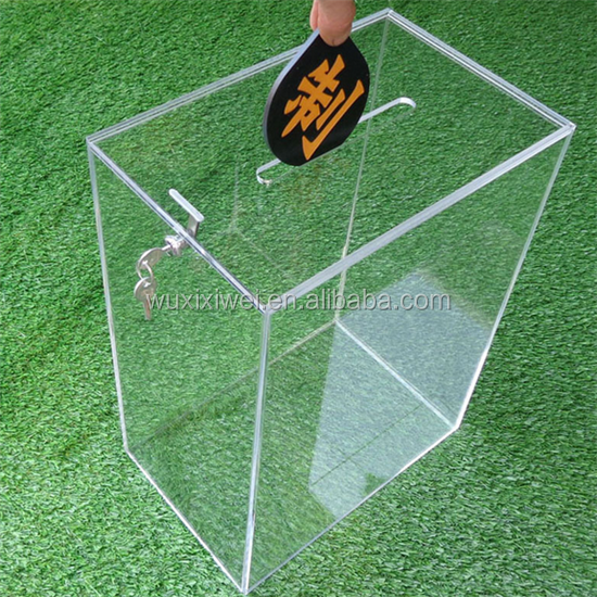 2017 clear drop front acrylic sneaker display box with magnets