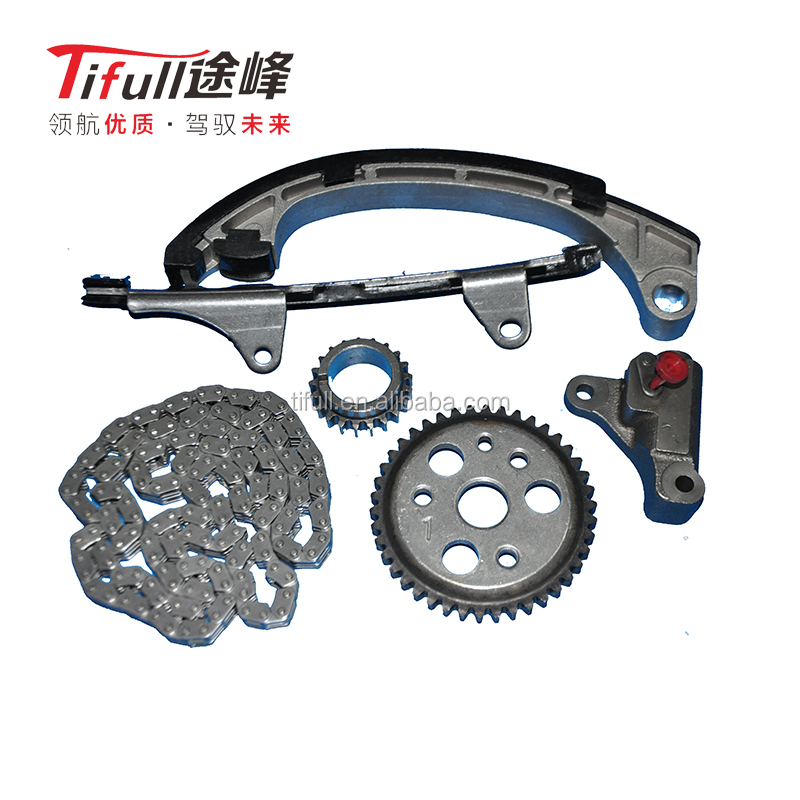 China high quality 3ZZ 3ZZFE Vios Timing Chain 13506-3ZZ Engine Set