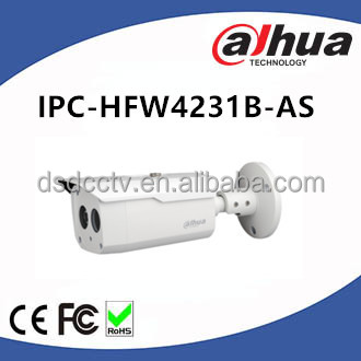Dahua Fixed Lens IR 50m 2MP 120dB WDR LXIR Bullet IP Camera IPC-HFW4231B-AS