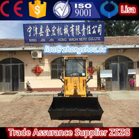 Small crawler bulldozer for sale, mini skid steer loader with angle blade attachment ZL910