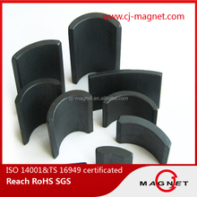 Fuel pump use permanent tile shape magnet certified by REACH