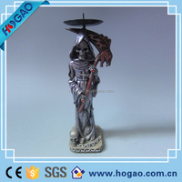 custom high quality resin ghost figurine wholesale halloween skull