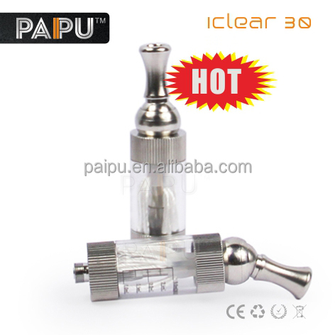 Replaceable dual coil iclear 30 atomizer and rotatable ic30 manufacture
