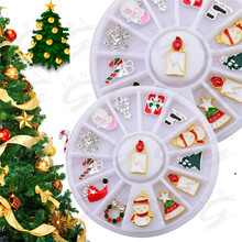 Christmas present nail art creative nail design decoration stickers