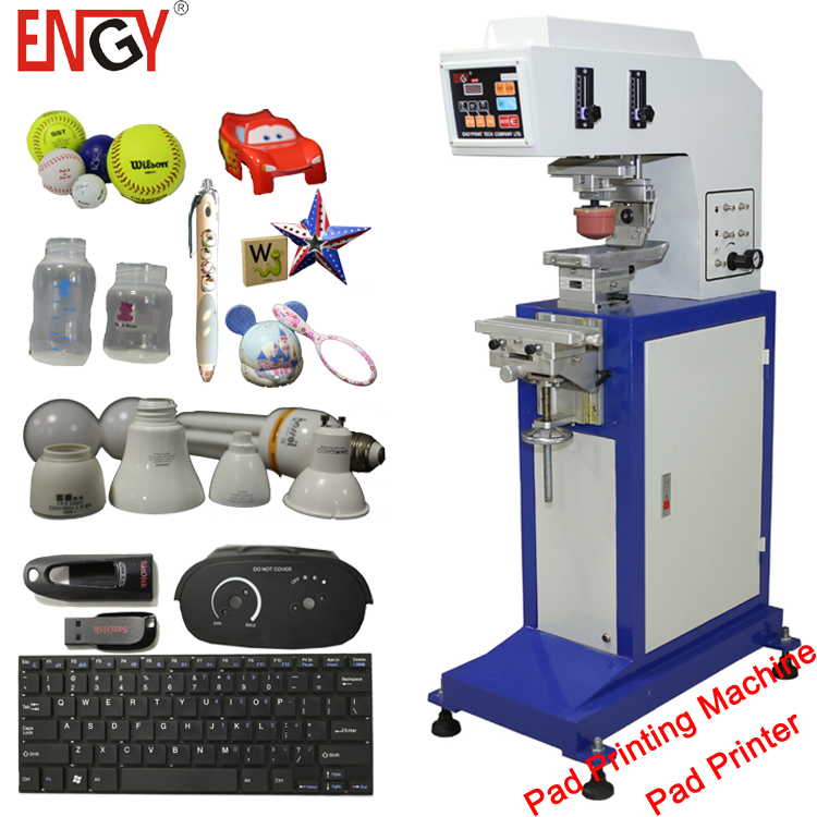 TDY-300 Semi automatic LED lamp pad printing machine