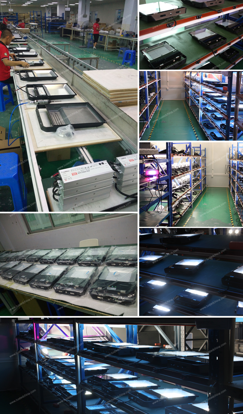 dimmable zigbee controlled high lumen 100w 12v 24v led lights china