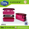 Two layers plastic lunch box chinese new year gifts