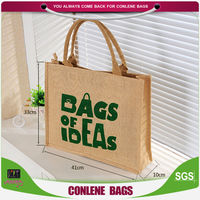 hot sale high qulaity jute shopping bag