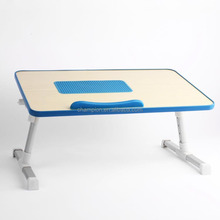 Adjustable Laptop Table Portable Bed Lap Tray Book Stand With Foldable Legs
