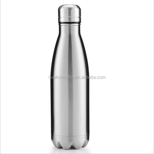 china suppliers cheap vacuum double wall 18 / 8 stainless steel insulated water bottle vacuum flask BPA free