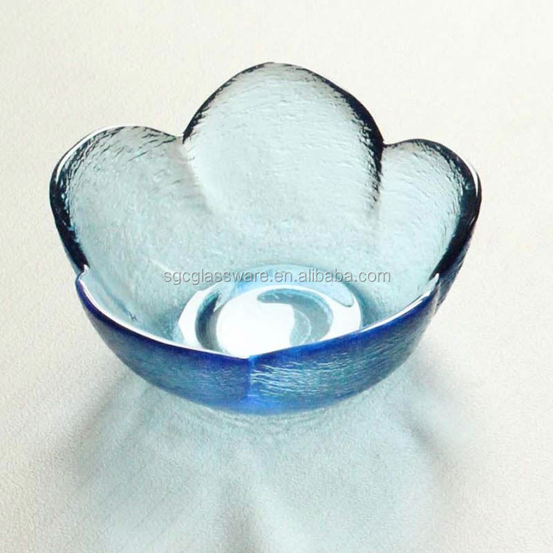 ocean blue glass bowls