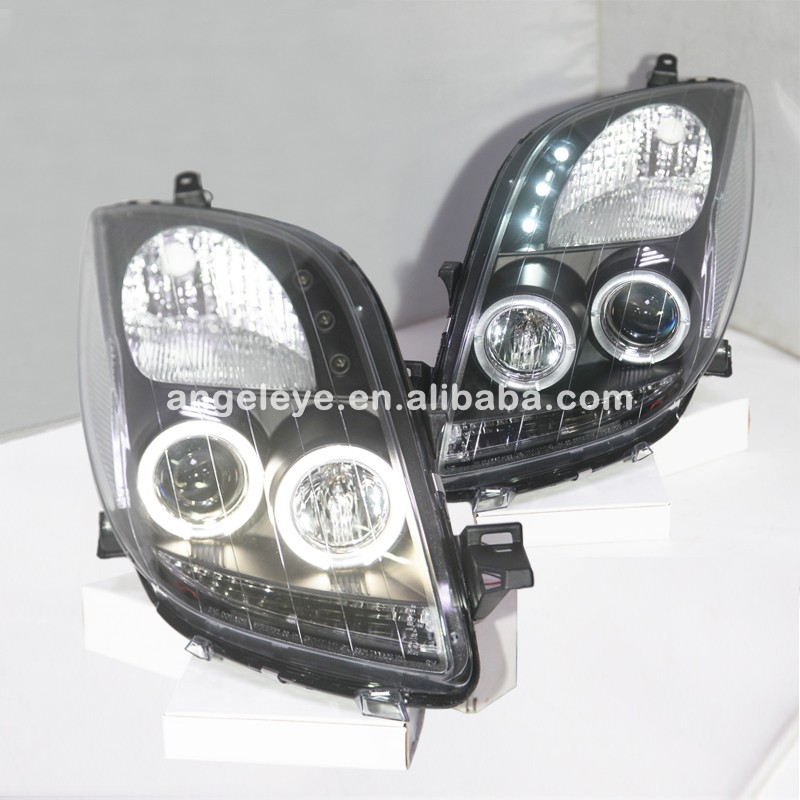Yaris LED Angel Eyes headlamp for 2006 to 2007 TOYOTA