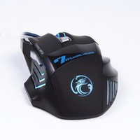 Cheap LED Light Wired Optical 7D Gaming Mouse