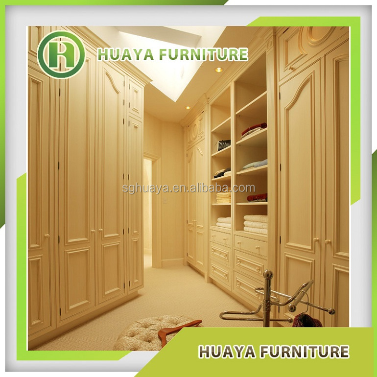 assemble design wooden portable wardrobe closet sale