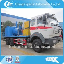 BeiBen 6*4 road cleaning truck