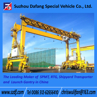 Rubber Tyre container gantry crane, mobile crane