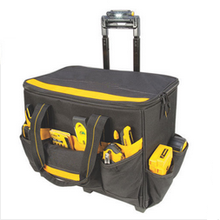 Roller Rolling Tool Bag Box Carrier LED Light Lighted Handle
