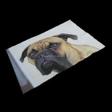 custom made logo artwork print animal cleaning cloth