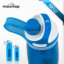 Sweep around world novel gift bottle / insulated thermal kettle / carbon water filter bottle