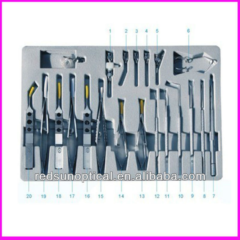 China ophthalmic instruments Cataract Instruments Set