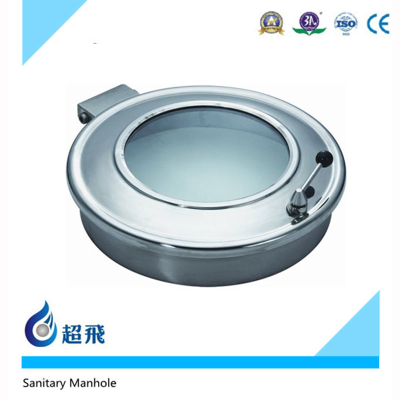 Food grade Sanitary Stainless Steel Manhole Cover stainless steel cover For Sale