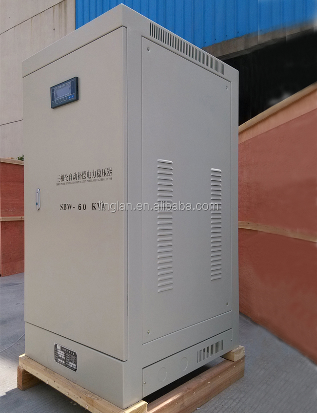 voltage stabilizer for water pump sbw-60kva