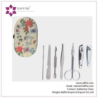 Best seller Manufacture Printed case manicure kits