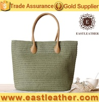 S124 Wholesale cheap price beach straw bag paper straw bag for female