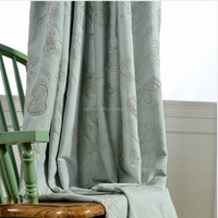 Home textile popular new design blackout curtain for living room