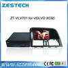 ZESTECH 7 inch headrest dvd player with wirelss game car dvd player for Volvo XC60