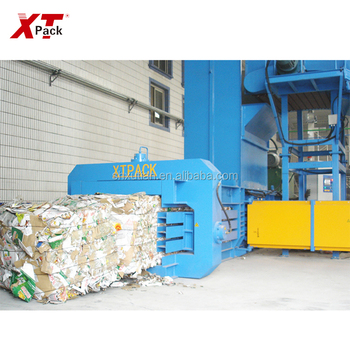 XTPACK-China manufacturer supply full auto paper scrap baler press OEM