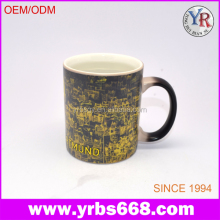 Alibaba china manufacture coffee brand gifts magic photo mug