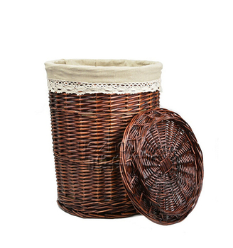 cute toy wicker laundry basket