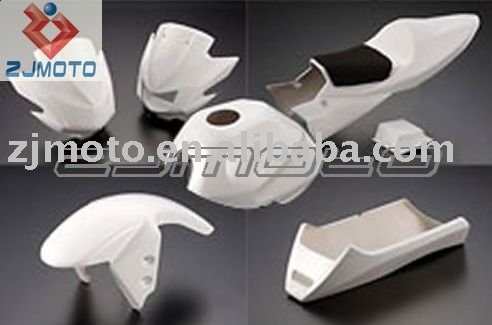 FRP Motorcycle Bodywork Fairing For KAWASAKI KSR110 FRP Racing Fairing Body Kits Cover (HRH)