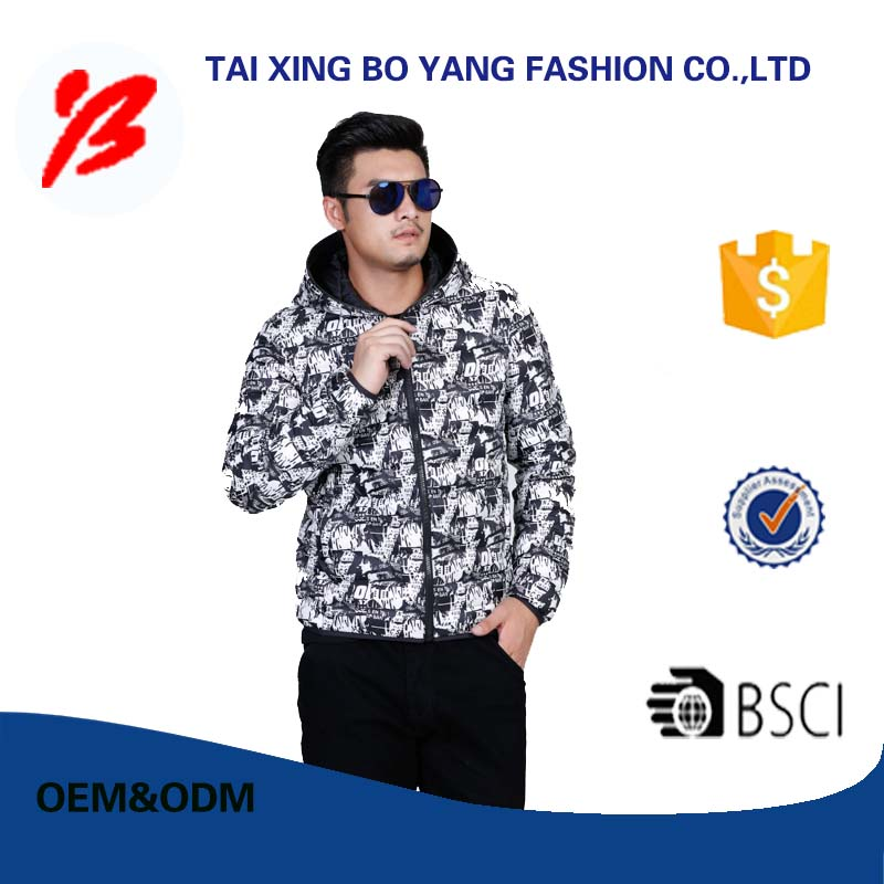 Professional down jacket china manufacturer made in China