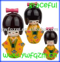 New Design Wooden Doll