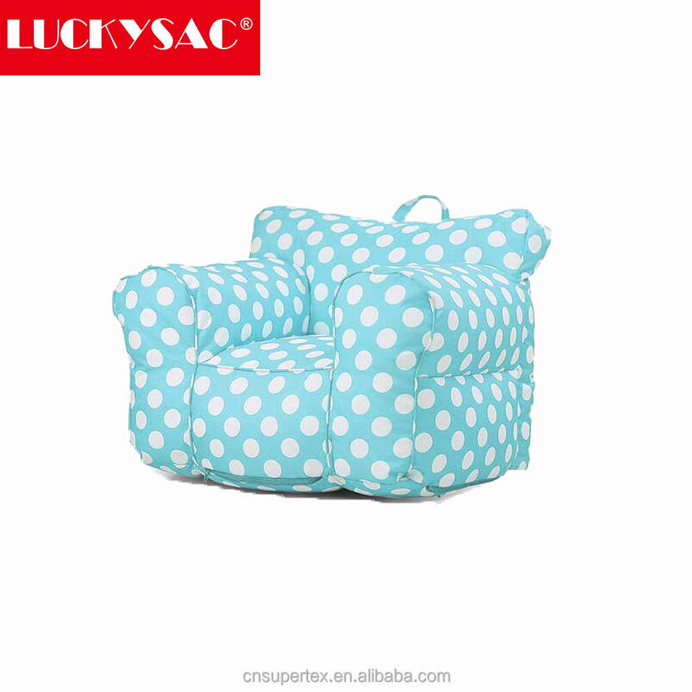 Kids Mini Lounger Sofa,Bean Bag Chair 600D waterproof Cute Cartoon Washable