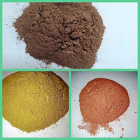 7 um leafing golden flake metallic pigment powder
