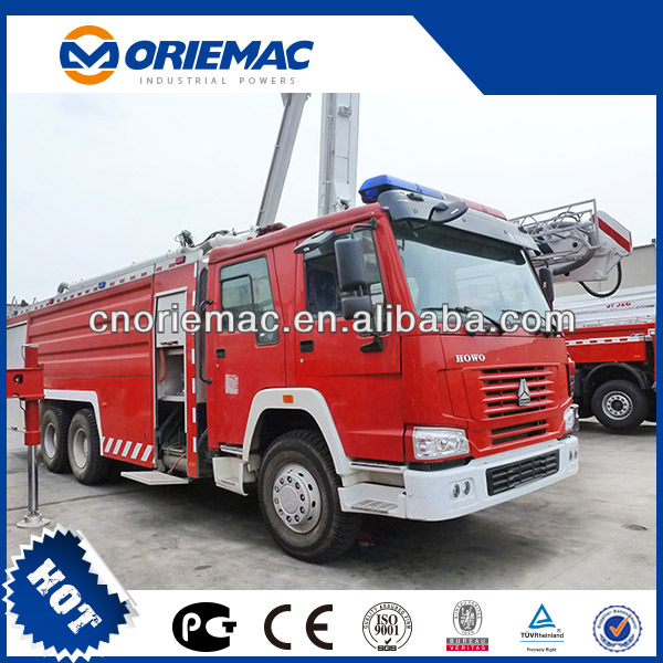 XCMG size of fire truck JP25B