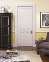 3 Panel Good Quality Classic White Wooden Interior Bedroom Door