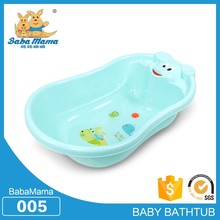 PE plastic Middle size plastic camping bathtub