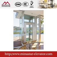 Small occupation space and convenient home elevator personal lift hydraulic