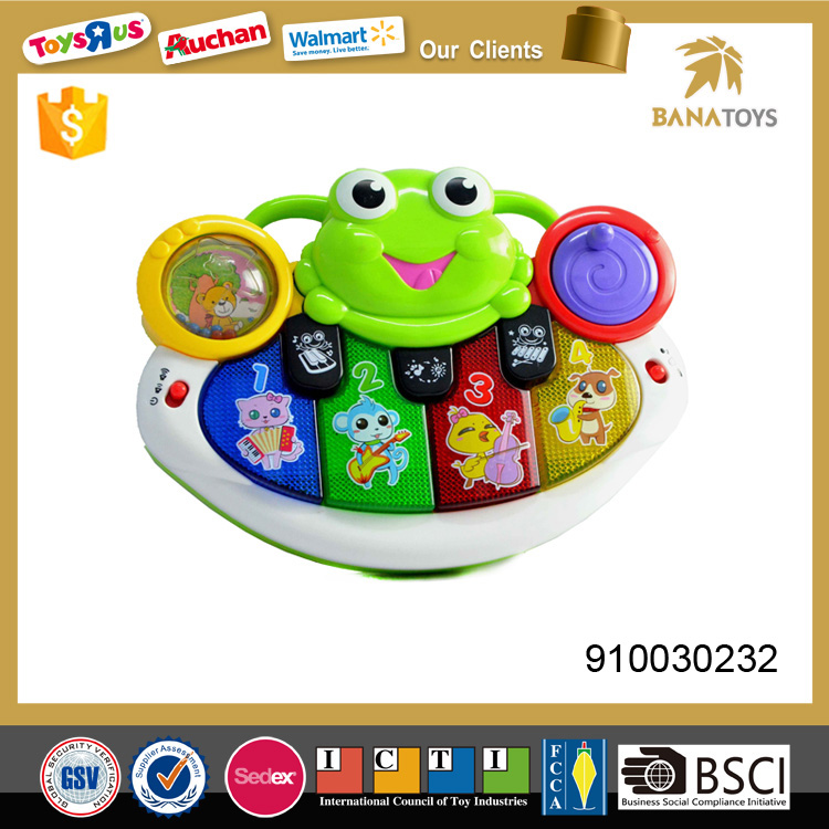 Baby toys musical instruments keyboard with light and music